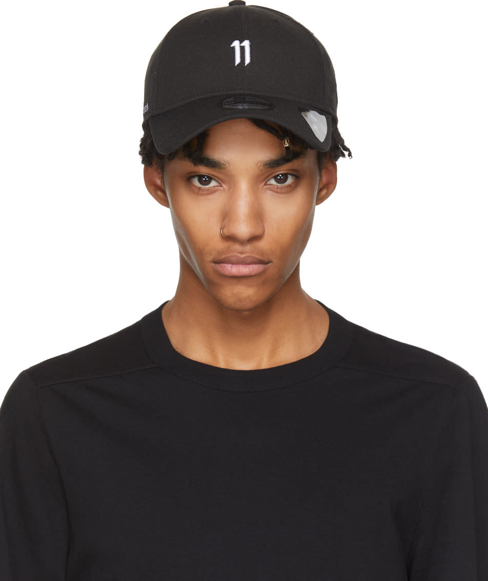 Image of 11 By Boris Bidjan Saberi Black and White New Era Edition 39thirty Cap