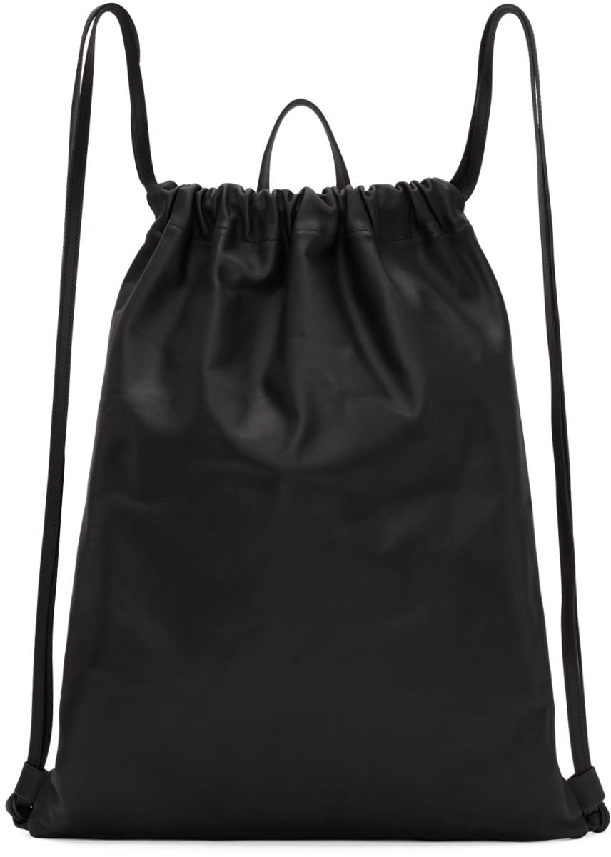 Image of Pb 0110 Black Ab 18 Drawstring Backpack