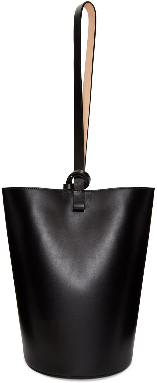 Image of Building Block Black Basket Bag
