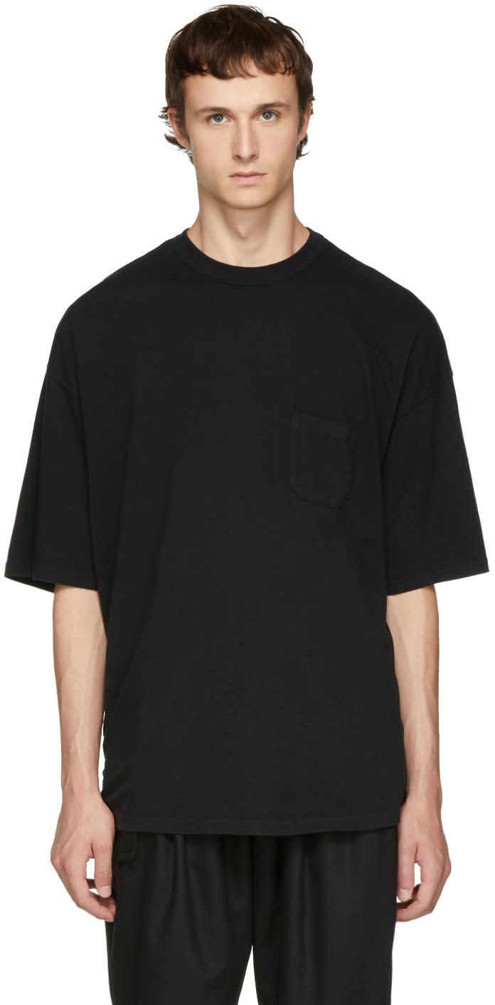 Image of Undecorated Man Black Oversized T-shirt