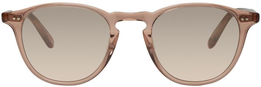 Image of Garrett Leight Pink Hampton Sunglasses