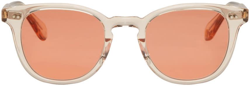 Image of Garrett Leight Pink Mckinley Sunglasses