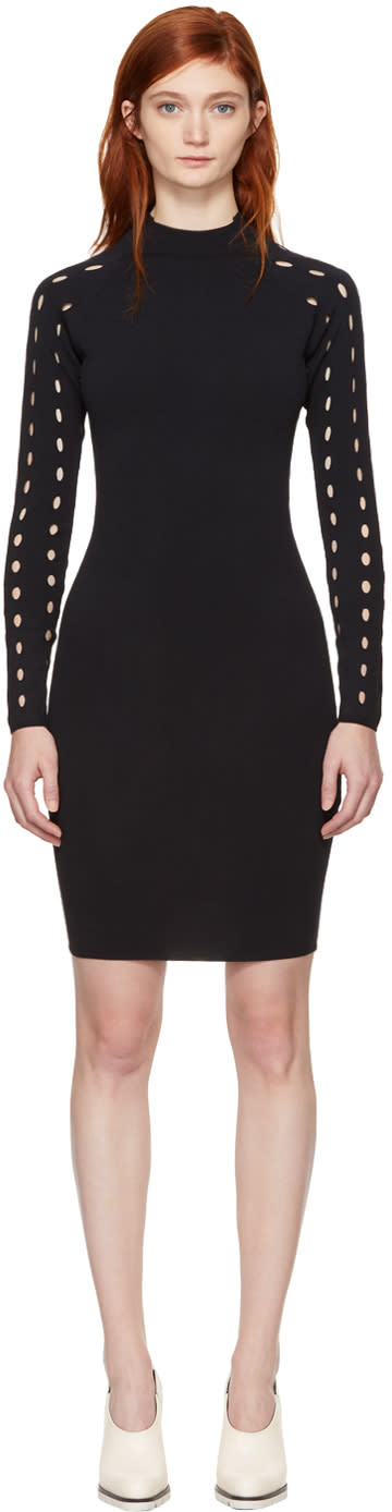 Image of Won Hundred Black Patricia Turtleneck Dress