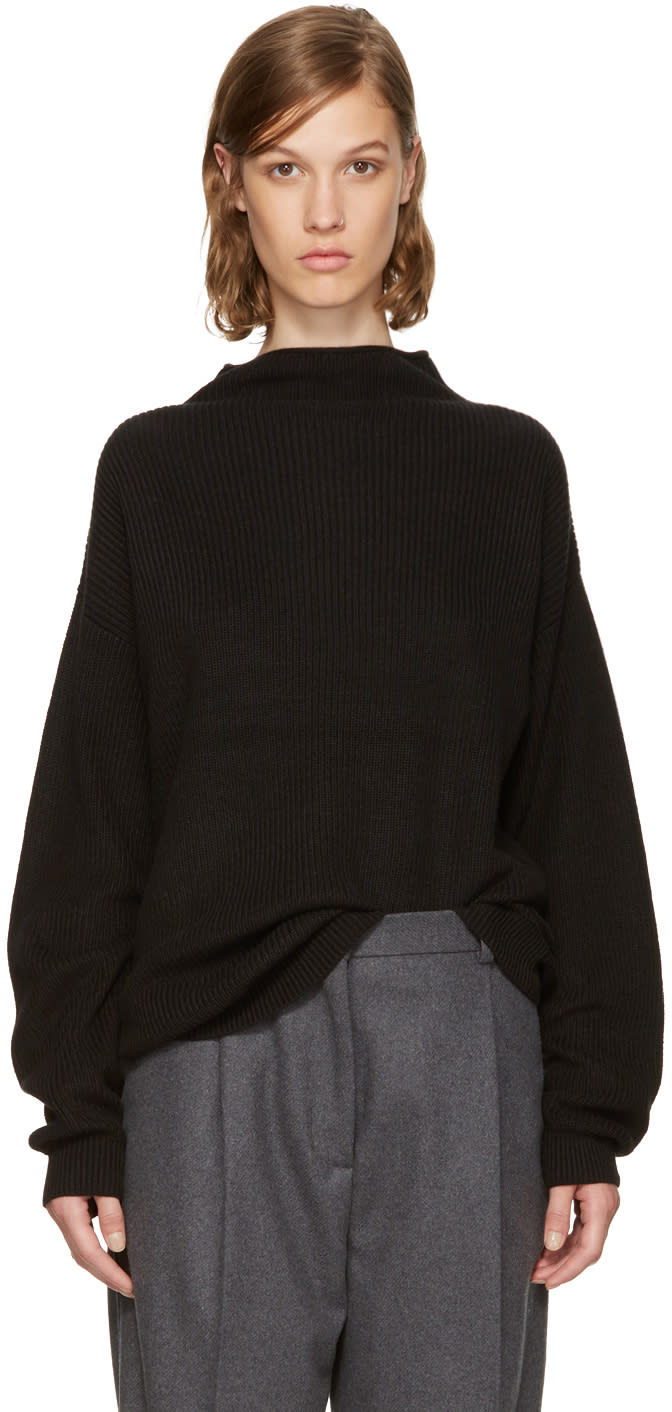 Image of Won Hundred Black Catharine Turtleneck