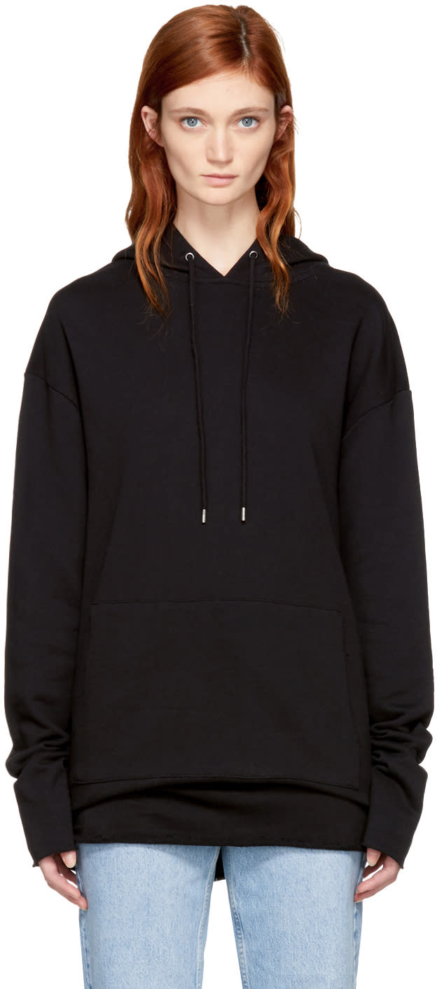 Image of Won Hundred Black Detroit Hoodie