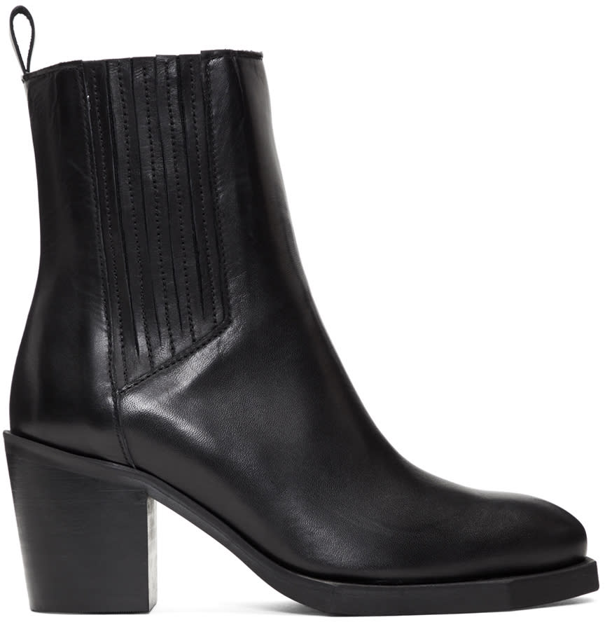 Image of Won Hundred Black Patrice Chelsea Boots