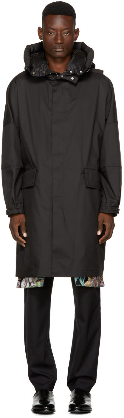 Image of Oamc Black Bohica Parka