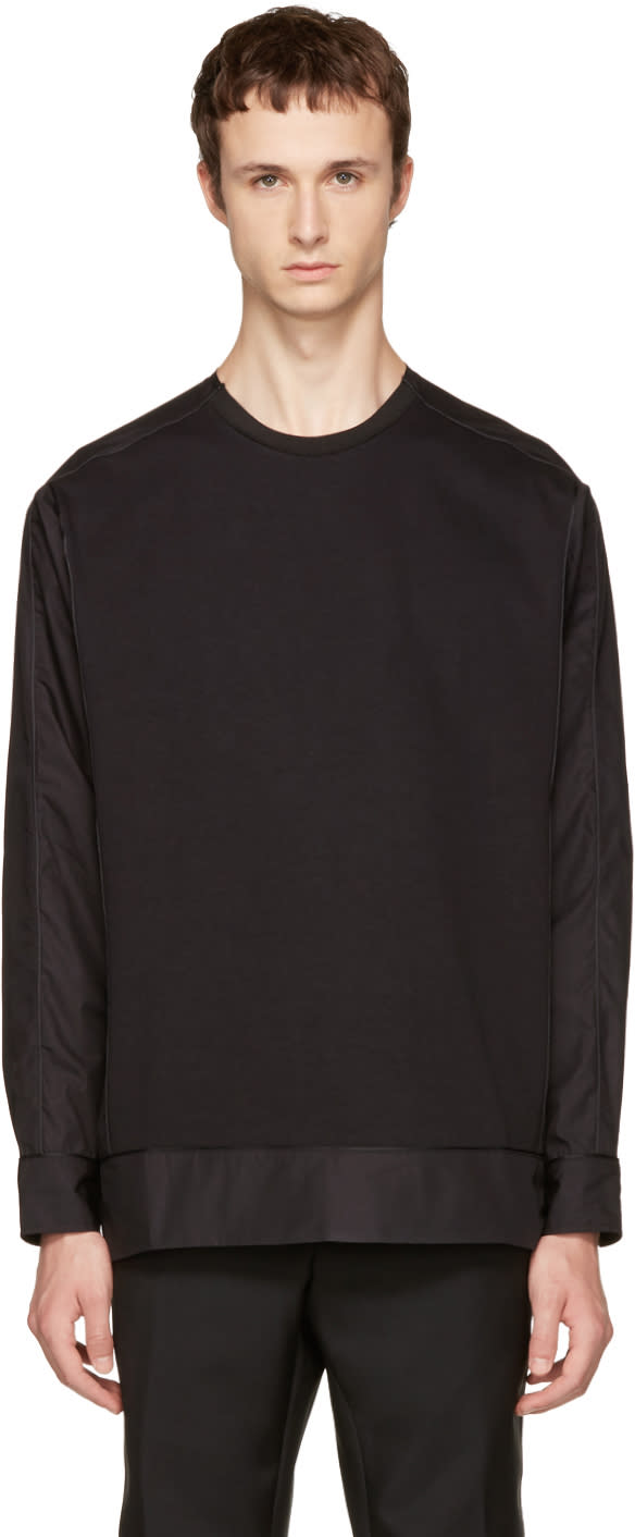 Image of Oamc Black Manor Sweater