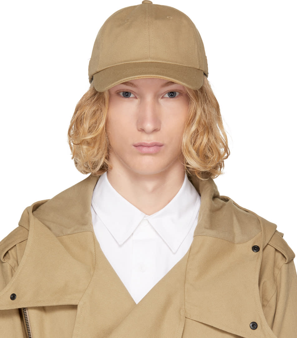 Image of D By D Beige Buckle Strap Cap