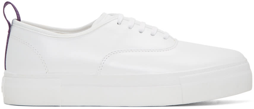 Eytys White Leather Mother Sneakers