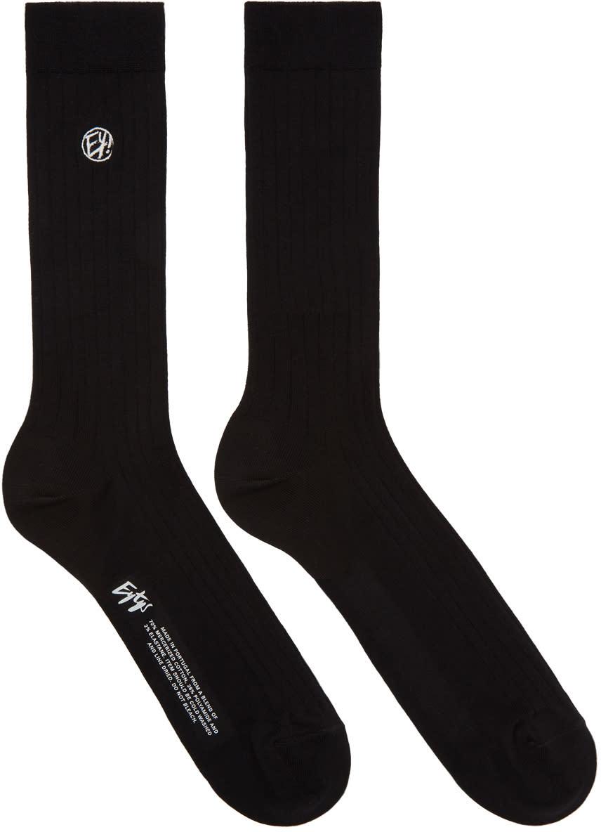 Image of Eytys Black Kelly Socks