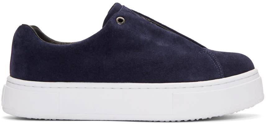 Eytys Navy Suede Doja Sneakers