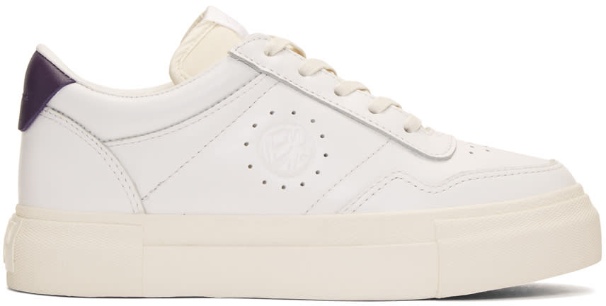 Eytys White Leather Arena Sneakers