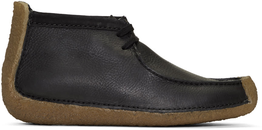 Image of Lemaire Black Clarks Originals Edition Redland Desert Boots