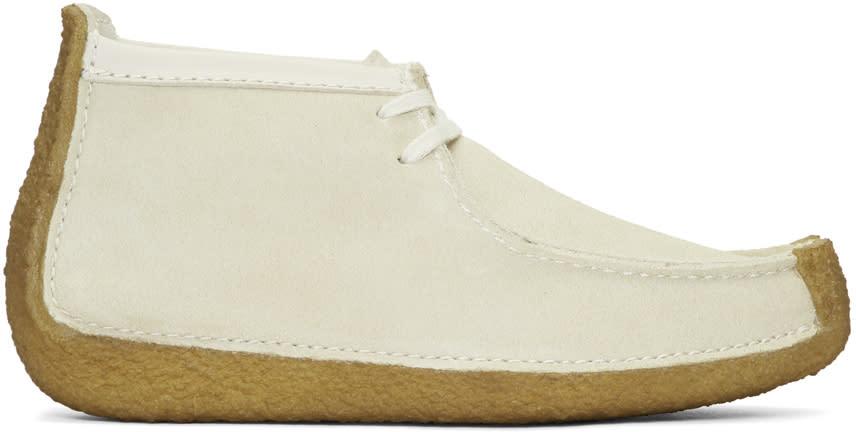 Image of Lemaire Beige Suede Clarks Originals Edition Redland Desert Boots