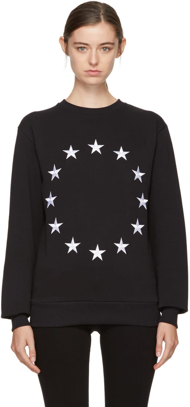 Image of études Black étoile Europa Sweatshirt