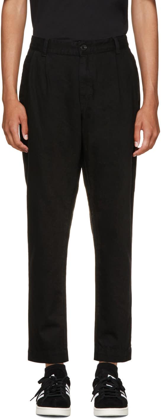 Image of études Black Denim Archives Trousers