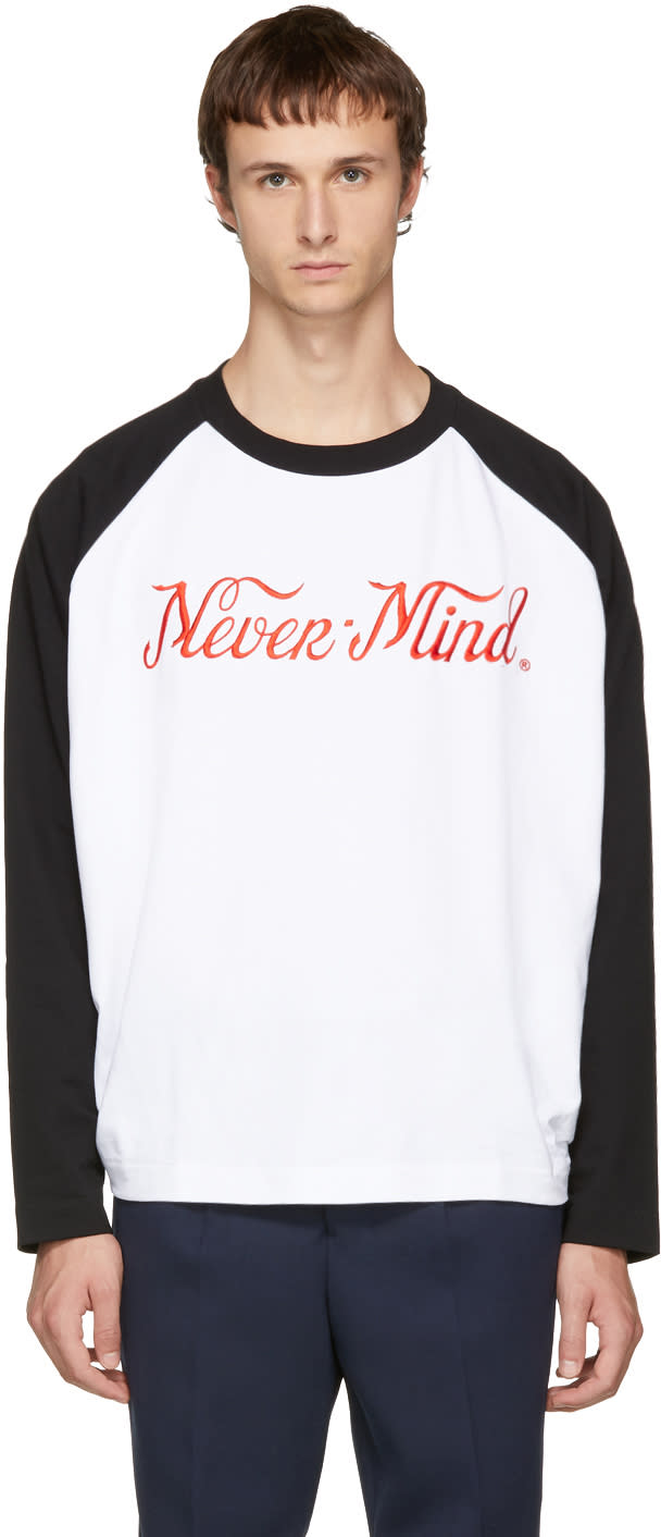 Image of études Black and White Desert nevermind T-shirt