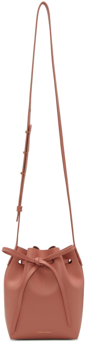 Mansur Gavriel Pink Mini Mini Bucket Bag