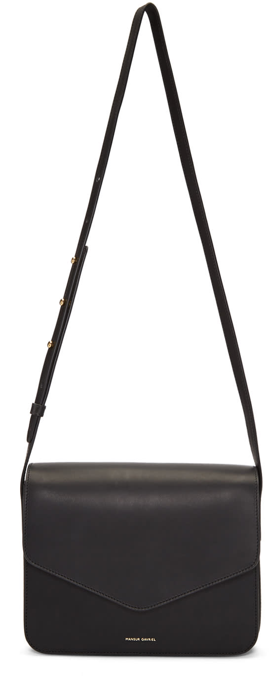 Image of Mansur Gavriel Black Envelope Crossbody Bag