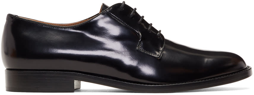 Image of Mansur Gavriel Black Classic Oxfords