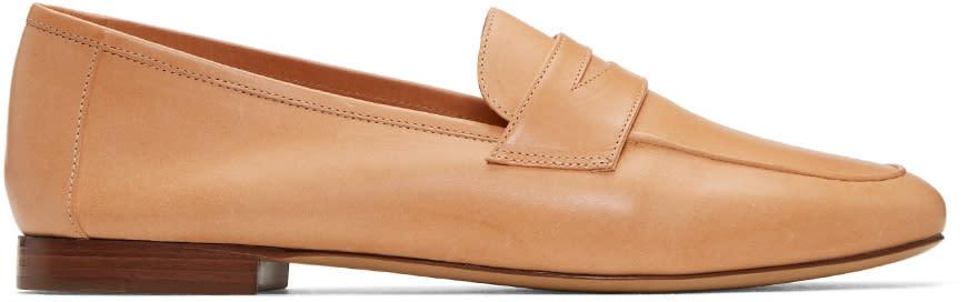 Mansur Gavriel Tan Classic Loafers