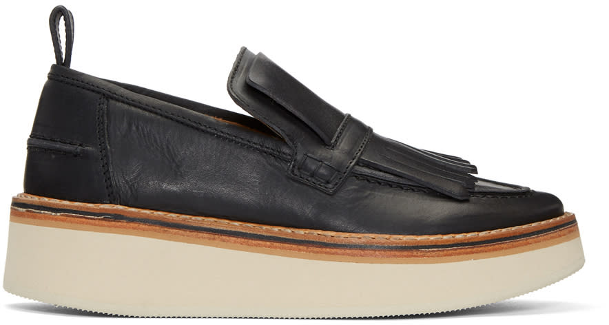 Image of Flamingos Black Trianon Platform Loafers