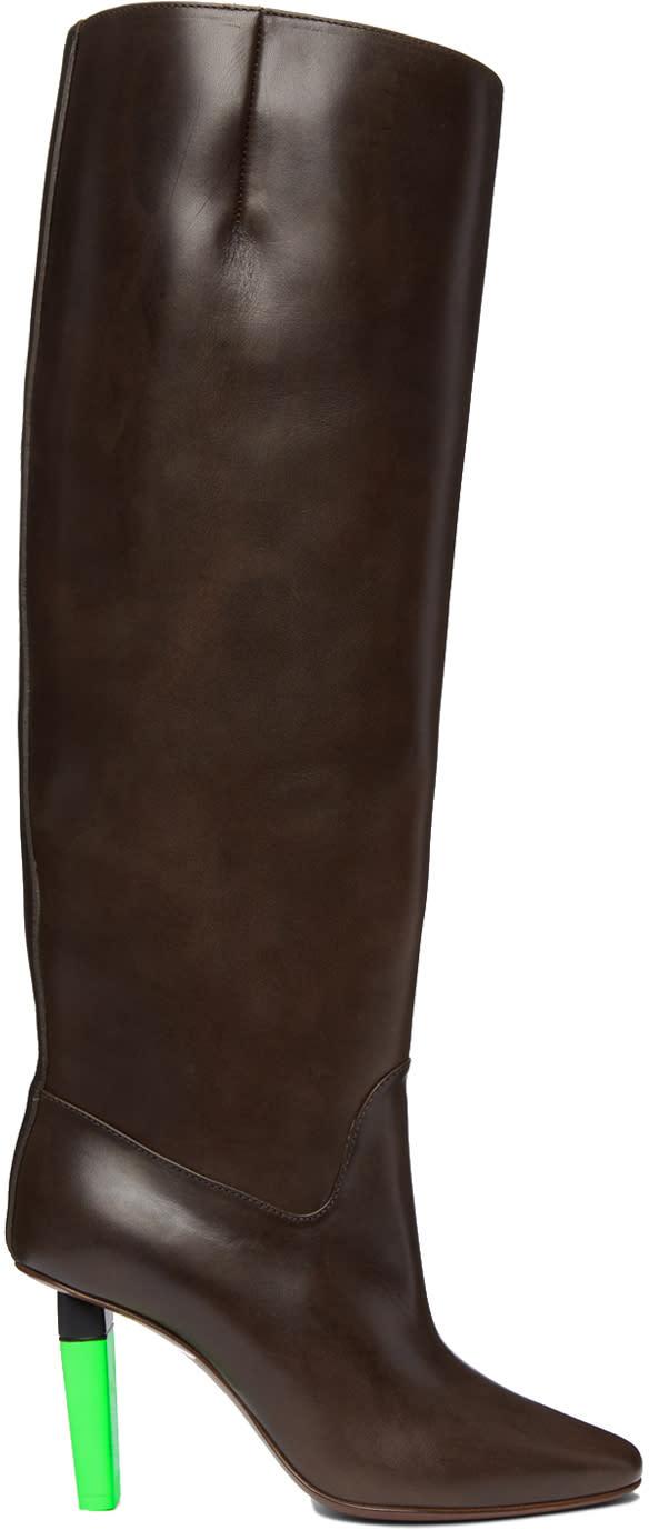 Vetements-Brown-Reflector-Social-Worker-Boots