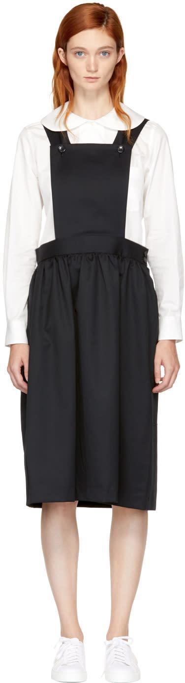 Image of Comme Des Garçons Girl Black Pinafore Dress
