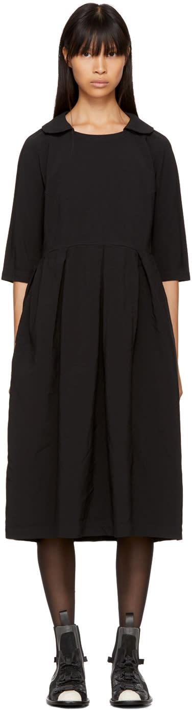 Image of Comme Des Garçons Comme Des Garçons Black Collared Dress