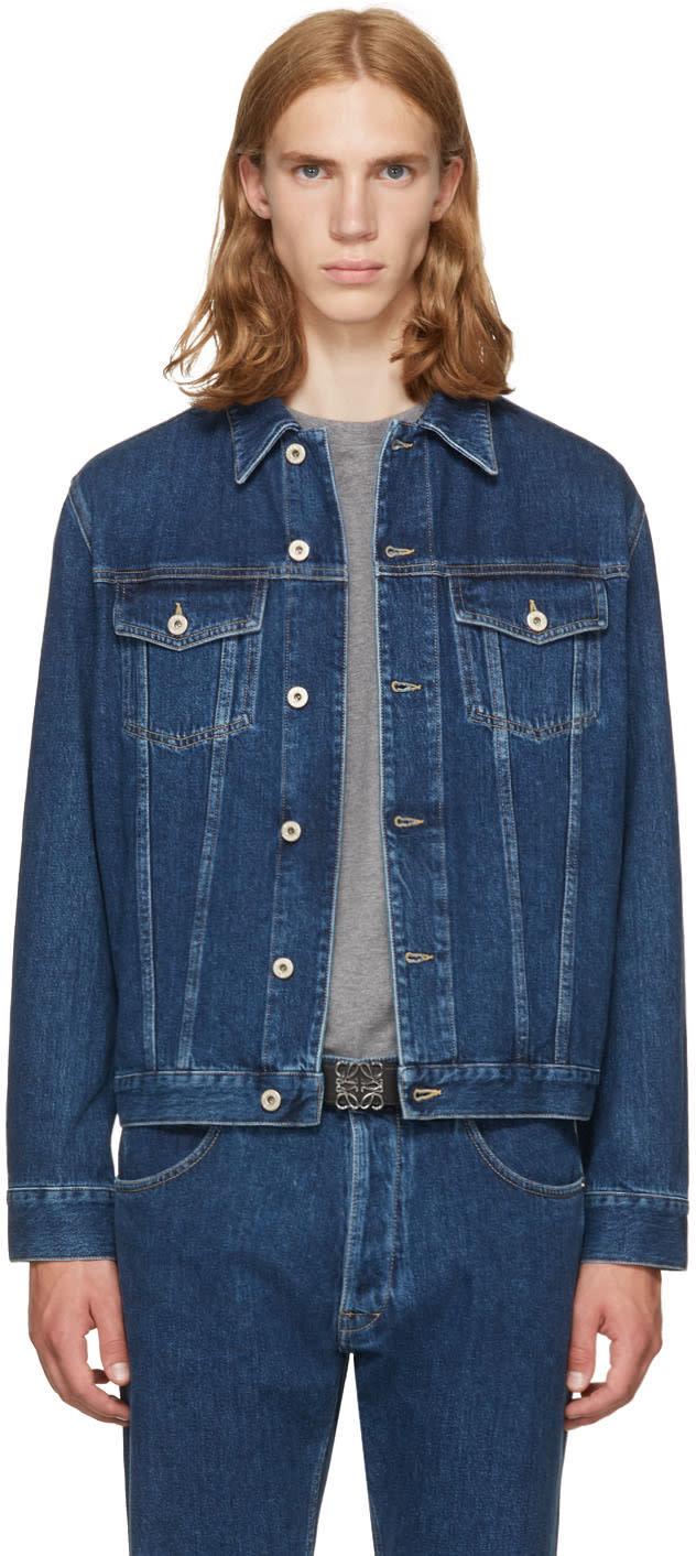 Loewe ブルー デニム ジャケット