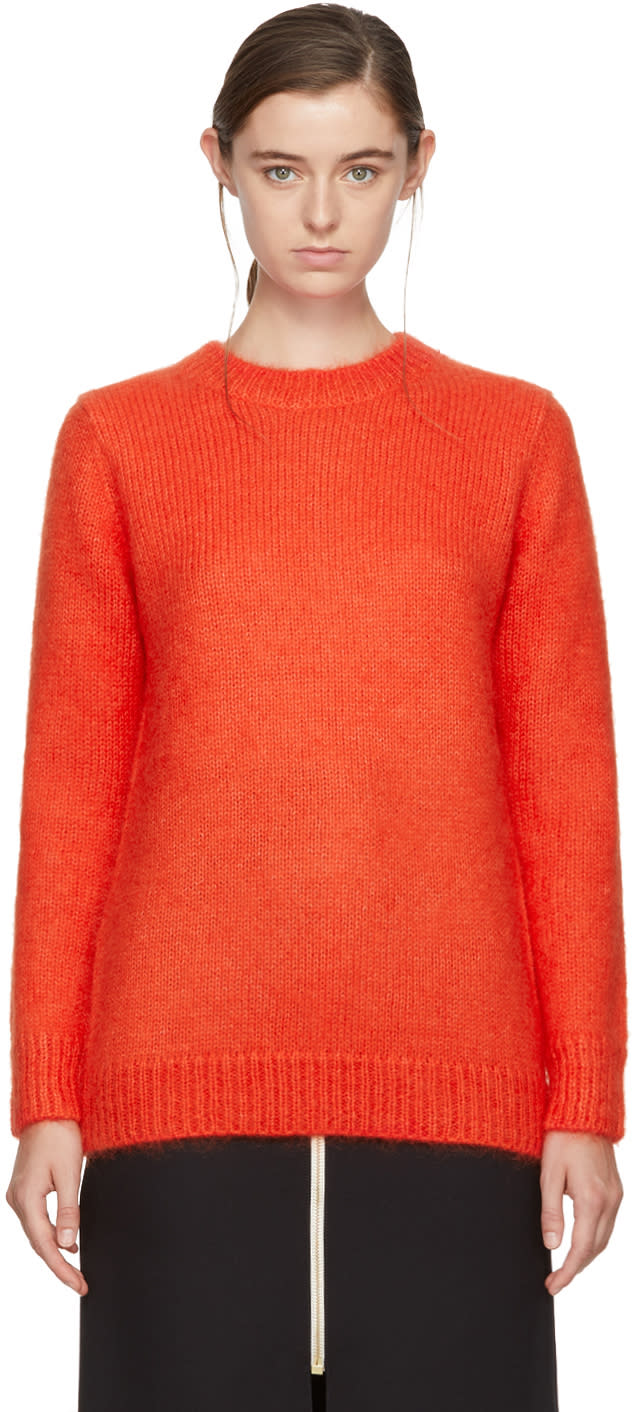 Image of Harmony Orange Katie Sweater