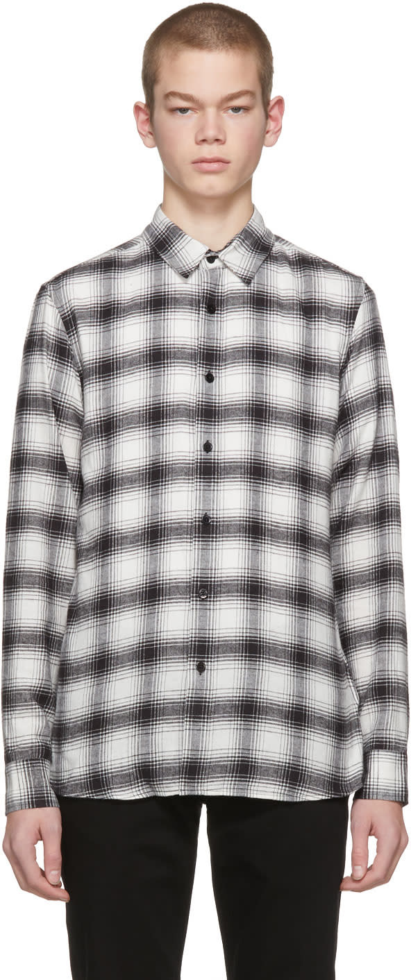 Image of Harmony Black and White Check Caleb Shirt