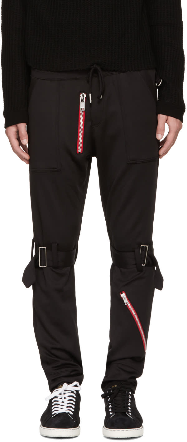 Image of 99% Is Black Bondage Zip Lounge Pants