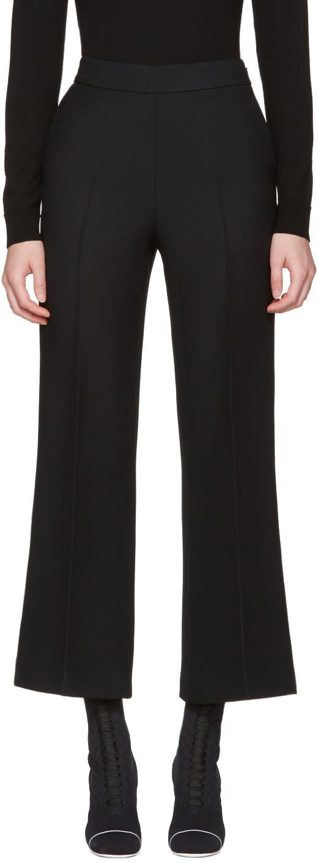 Fendi Black Wide-leg Trousers