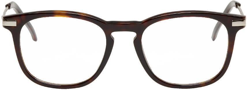 Fendi Tortoiseshell Square Glasses