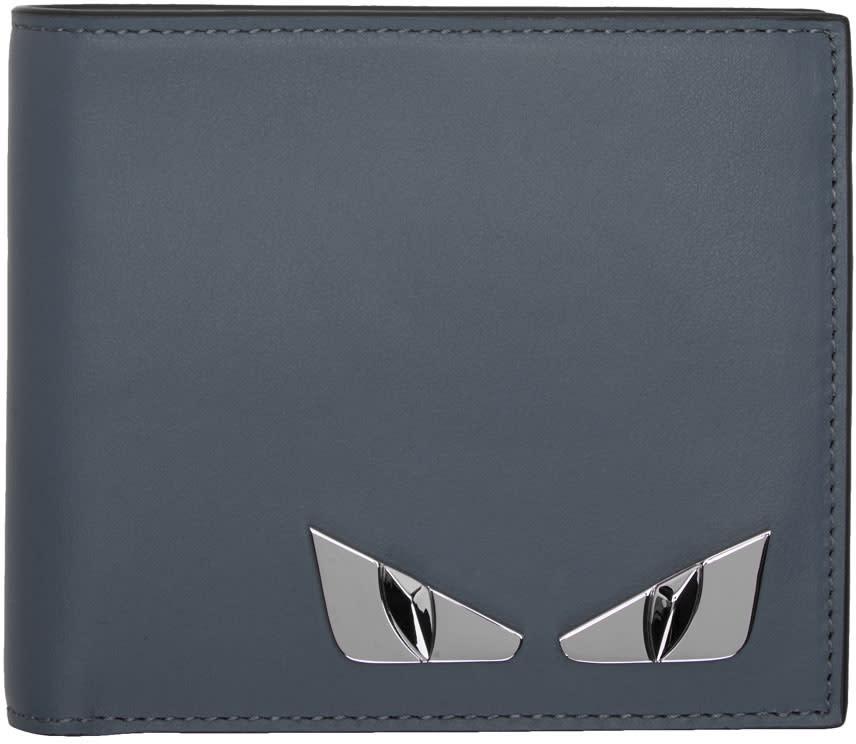 Fendi Blue bag Bugs Wallet