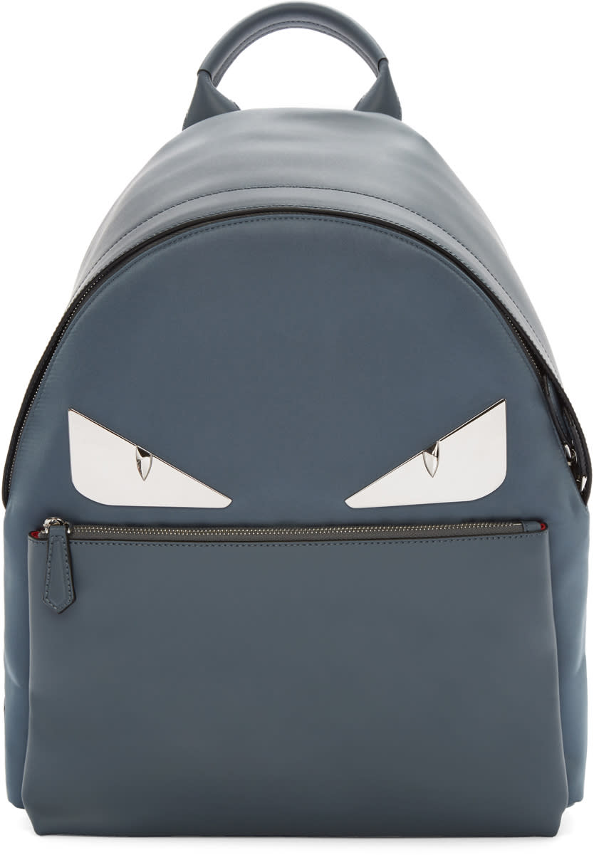 76609e86b21 Fendi Grey Metal bag Bugs Backpack