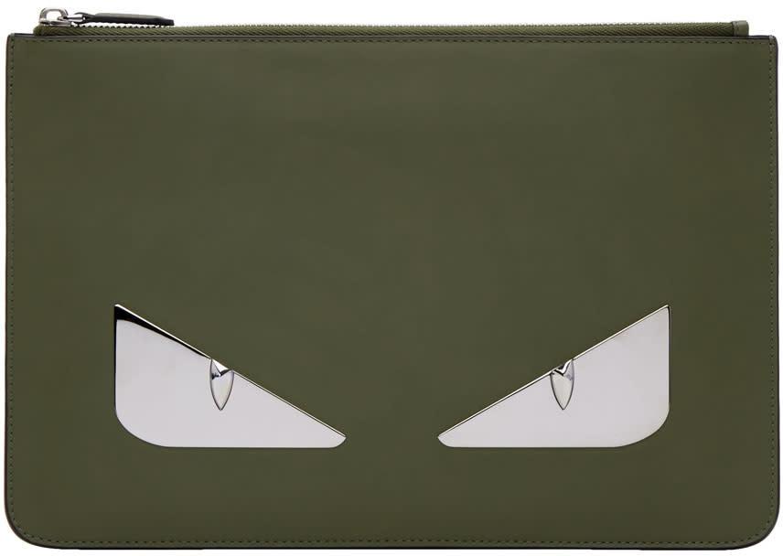 Fendi Green bag Bugs Pouch