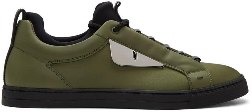 Fendi Green bag Bugs Sneakers