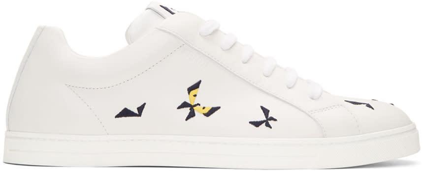 Fendi Off-white Butterfleyes Sneakers