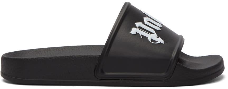 Image of Palm Angels Black Logo Slides