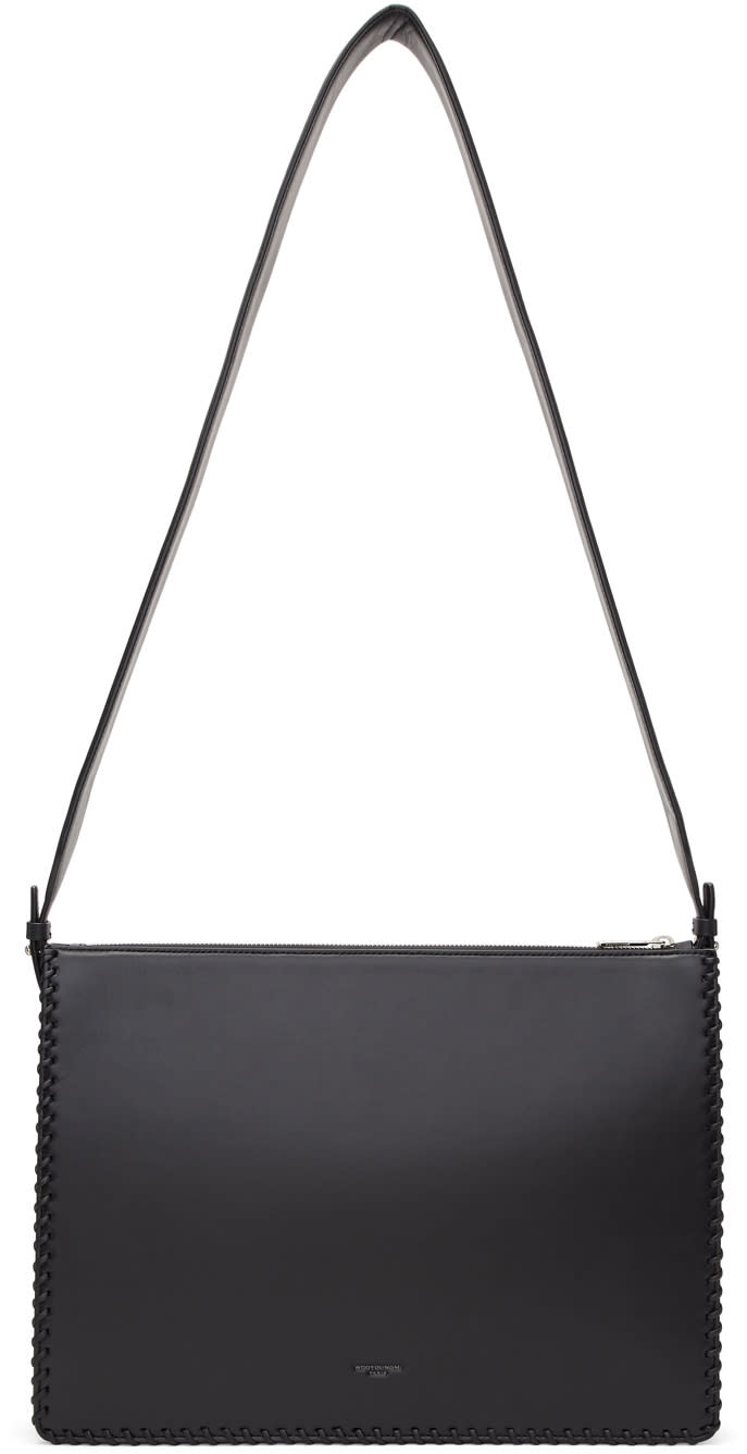 Image of Wooyoungmi Black Document Bag