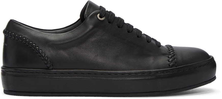 Image of Wooyoungmi Black Classic Sneakers