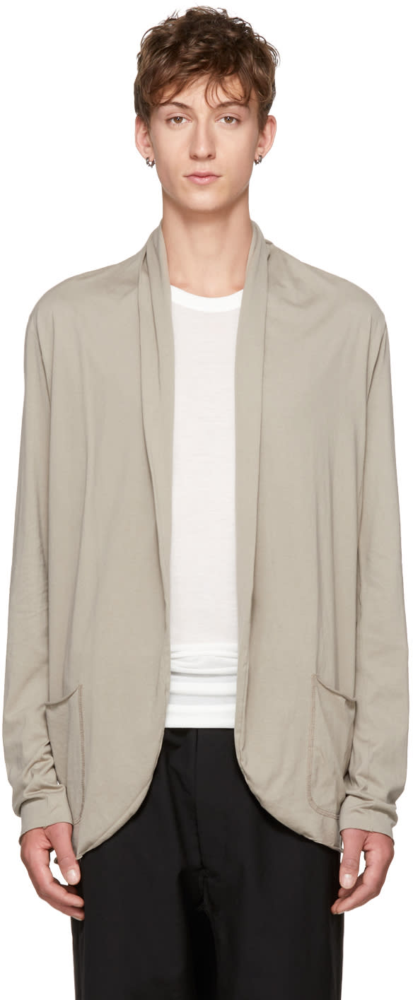 Image of Attachment Beige Shawlneck Cardigan
