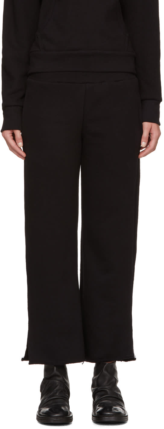 Image of Simon Miller Black Canal Lounge Pants