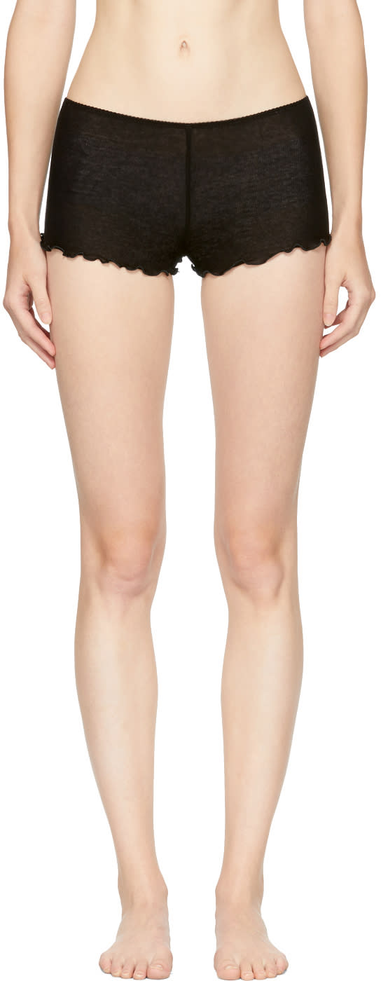 Image of Araks Black Kat Boy Shorts