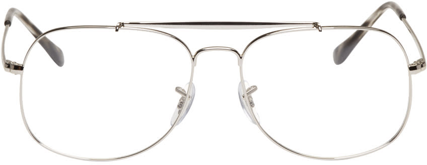 Ray-ban Silver Square Icons Glasses