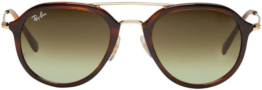 Ray-ban Tortoiseshell Rb4253 Sunglasses