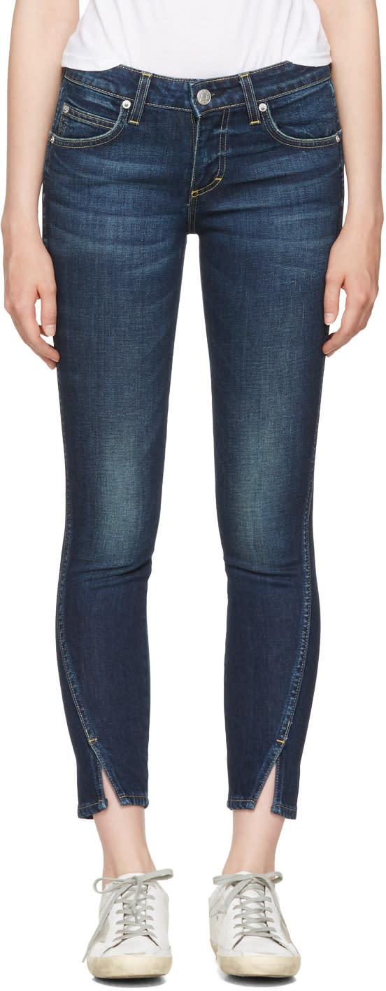 Image of Amo Blue Twist Jeans